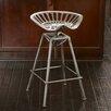Home Loft Concepts Aroldis Saddle Adjustable Height Bar Stool