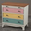 Home Loft Concepts Woodmont 3 Drawer Chest