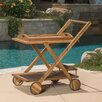 Home Loft Concepts White Sands Bar Serving Cart