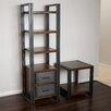 "Home Loft Concepts Portland 73"" Standard Bookcase"