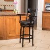 """Home Loft Concepts Eclipse 45.28"""" Swivel Barstool with Cushion"""
