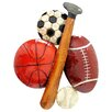 Hazelwood Home Sports Motif Wall Decor