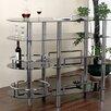 Hazelwood Home Bar with Wine Storage