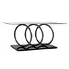 Hazelwood Home Modern Ring Coffee Table