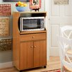 Andover Mills Microwave Cart