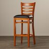 """Andover Mills 29.5"""" Bar Stool with Cushion"""