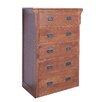 Forest Designs 5 Drawer Dresser