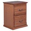 Forest Designs 2-Drawer File Cabinet