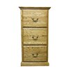 Forest Designs 3-Drawer File Cabinet