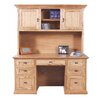 Forest Designs Executive Desk with Hutch