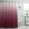 Bath Studio Ombre Waffle Fabric Weave Shower Curtain
