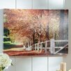 "Three Posts ""Autumn Moods"" by Beata Czyzowska Young Photographic Print"