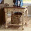 Three Posts Classic Two Tone End Table