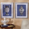 Three Posts Amphora 2 Piece Framed Wall Art Set