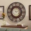 """Three Posts Reynolds 38"""" Metal Wall Clock"""