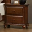 Three Posts 2 Drawer Nightstand by Simmons Casegoods