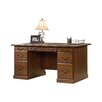 Three Posts Bauman Executive Desk