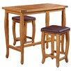 Three Posts Spencer 3 Piece Pub Table Set