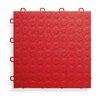 "BlockTile 12"" x 12""  Garage Flooring Tile in Red (Set of 30)"