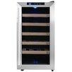AKDY 18 Bottle Single Zone Freestanding Wine Refrigerator