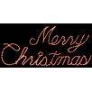 Brite Ideas Merry Christmas LED Light