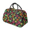 "World Traveler Peace Sign 21"" Carry-On Duffel"