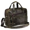 World Traveler The Jones Leather Laptop Briefcase