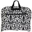World Traveler Damask Hanging Garment Bag