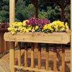 "Handy Home San Marino & Monterey Gazebo 6"" H x 3' 6"" W x 10"" D Flower Box"