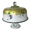 Golden Hill Studio Grapes 'n Vines Cake Stand