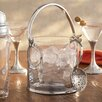 Arte Italica Taverna Crystal Ice Bucket with Handles