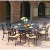 Darlee Florence 9 Piece Dining Set with Cushions