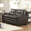 Homelegance Urich Leather Reclining Loveseat
