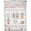 Mierco Cross-stitch Tea Towel (Set of 2)