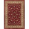 Well Woven Barclay Sarouk Border Red Area Rug