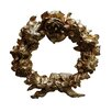 Hickory Manor House Floral Wreath Tieback