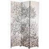 "nexxt Design 71"" x 48"" Bota Chrysanthemum 3 Panel Room Divider"