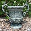 Ladybug Garden Decor Round Urn Planter