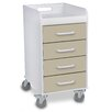 TrippNT 4 Drawer Cart Compact