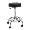 Nexel Height Adjustable Comfort Stool with Backrest