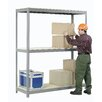 Nexel Wide Span Storage Rack with Wire Deck