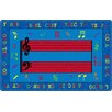 Flagship Carpets Fun with Music Kids Rug