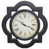 """EC World Imports Oversized 13.25"""" Antique Reproduction Architectural Wood Wall Clock"""