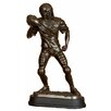 "EC World Imports 17"" Pro Football Player Quaterback Poly resin Sculpture"