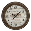 "EC World Imports Urban Oversized 23"" Chateau Grand Weathered Vintage Classic Wall Clock"