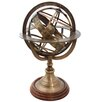 EC World Imports Engraved Brass Tabletop Armillary Nautical Sphere Globe