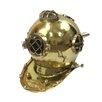 EC World Imports Antique Reproduction Solid Brass U.S. Navy Mark V Diving Helmet