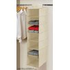 Linen Depot Direct Beige 7 Tier Hanging Shelf