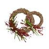 Fantastic Craft Narcissus 2 Piece Wreath Set