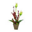 Fantastic Craft Lily Tulip Floor Plant in Pot